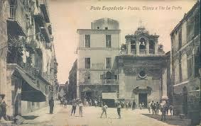 Porto Empedocle la Piazza com'era un secolo fa