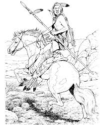 Small Picture Indian Horse Coloring Sheets Horse Coloring Pages coloring