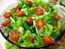 Простые салаты с овощей рецепты с фото