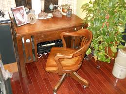 vintage style office furniture. H.Krug Office Chair-Mission Style Desk Vintage Furniture E