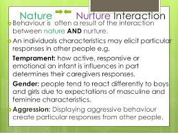 nature nurture powerpoint nature nurture interaction
