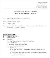 Legal Memorandum Example Skycart Us