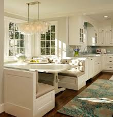 Built In Bench Seating For Kitchen Island With Incridible Islands