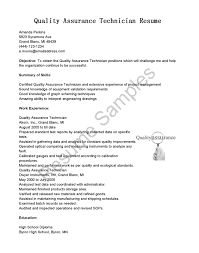 resume of quality assurance auditor senior resume example cover letter cover letter resume of quality assurance auditor senior resume examplesoftware quality assurance cover letter