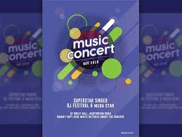 Concert Poster Design Music Concert Poster Free Psd And Graphic Designs