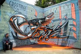 3d graffiti art odeith 1