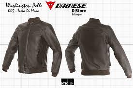 new dainese g washington pelle testa di moro vintage jacket eu 58 us 48 8052644185805
