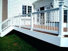 deck railing home depot veranda deck railing deck railing styles white veranda aluminum picket rails with deck railing home depot