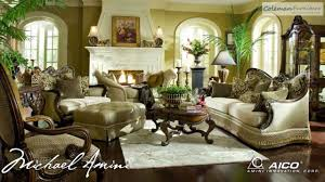 Michael Amini Living Room Sets Chateau Beauvais Living Room Collection From Aico Furniture Youtube