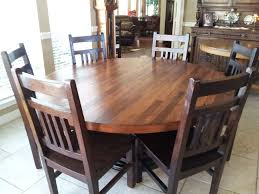 Round Dining Table For 6 With Leaf Makeovers Maple Kitchen Tables Round Dining And Kitchen Tables