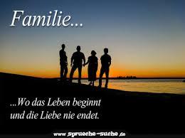 Sprüche Familie Wo Das Leben Beginnt Und Die Liebe Nie Endet
