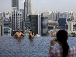 infinity pool singapore. Marina Bay Sands Infinity Pool Singapore
