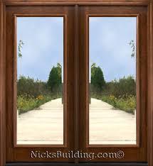 1 lite mahogany patio doors mahogany french doors available in 6 8 height interior or exterior use doors are 1 3 4 thick solid brazilian mahogany wood