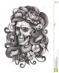 snake head drawings in pencil. Interesting Drawings Art Design Women Skull Head Snake Surreal Fantasy Hand Pencil Drawing On  Paper And Snake Head Drawings In Pencil E