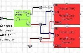 aftermarket heated grips an oem switch bmw k75 k100 k1 k1100 wiring schematic