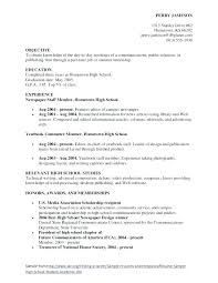 Objective For A Student Resume Objective Statement For Student