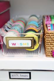 diy organized giftwrap station 32 again iheart organizing gifts