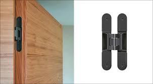 black finish sets new accents in door design
