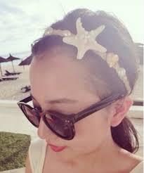 Seaside Decorative Accessories Amazon Starfish Hair Band Lady Seaside Star Bandeau Hairpin 46