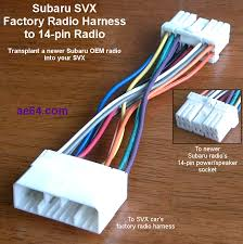 subaru stereo wiring harness subaru image wiring radio wiring adapter harness for subaru svx on subaru stereo wiring harness