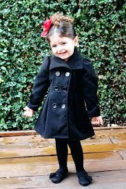 toddler girl peacoat girls pea coats white