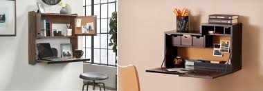 modern wall mounted desk designs with
