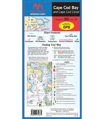 Maptech Cape Cod Bay Waterproof Chart 5th Edition 2018