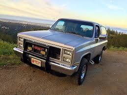 1985 GMC Jimmy 4x4 Original California Truck - YouTube