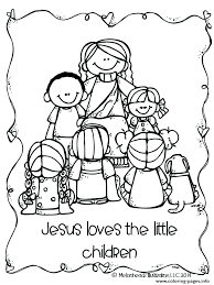 Christian Easter Story Coloring Pages Coloring Pages The Story Jesus