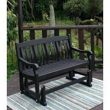 outdoor glider bench outdoor porch glider bench dark brown seats 2 more outdoor glider bench costco