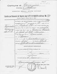 Findingparadiso An Italian Genealogy Site