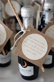 < Gender Neutral Baby Shower // baby shower favors // champagne shower  favors with poem // baby shower favor tags >