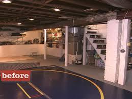 Decorating Ideas > Basement Design Ideas, Pictures And Videos HGTV ~  031414_Basement Decorating Ideas Sports Theme