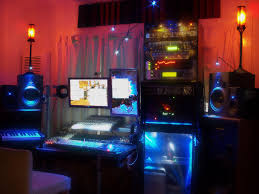 inspirational lighting. Home Studio With Colorful And Inspirational Lighting L