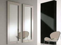 framed modern mirror. Perfect Mirrors Interiors Designs Idea : Modern Framed Contemporary Fabric Chair Mirror R