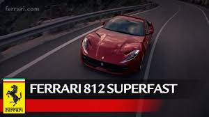 2018 ferrari 812 superfast black. delighful superfast ferrari 812 superfast  official video for 2018 ferrari superfast black
