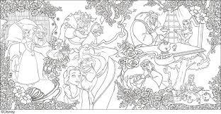 大人ディズニー 愛の贈りもの 素敵な塗り絵レッスンブック 中身2