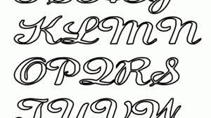 fancy bubble letters alphabet print alphabet cursive capital letters at yescoloring homeschool 570x320