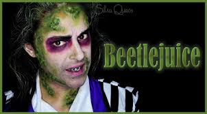 maquillaje beetlejuice con xyblood