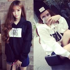 パーカーファッションは韓国オルチャンに聞け着こなし方とメイク