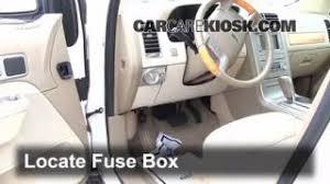 interior fuse box location lincoln mkx lincoln 2007 2015 lincoln mkx interior fuse check