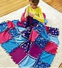 Amazon.com: ALEX Toys Craft Knot-A-Quilt Pattern Kit: Toys & Games & Fleece Starry Sky Knot-A-Quilt No Sew Craft Kit Adamdwight.com