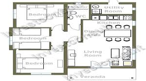 Small 3 Bedroom House Floor Plans Cheap 3 Bedroom House Plan Small 3 Bedroom House Floor Plans Tiny