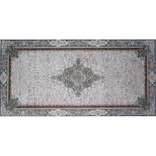 mcvey hand look persian wool blue pink brown area rug by astoria grand astoria