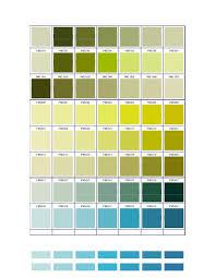 Pantone Green Color Chart Pms 5517