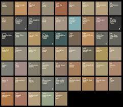 Concrete Stain Chart Davis Concrete Color Chart