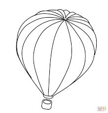 Heteluchtballon Kleurplaat Gratis Kleurplaten Printen