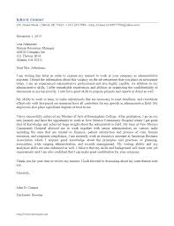 Executive Assistant Cover Letter Examples Office Assistant Cover Letter Sample Gotta Yotti Co Administrative