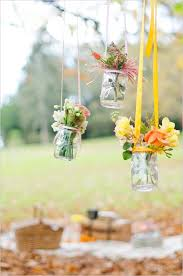 Decorating Jam Jars For Wedding Outdoor Wedding Decor Ideashanging Jam Jar Florals Deer Pearl 51