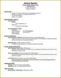 How To Write A Job Resume For A Highschool Student How To Write Jobe For Highschool Student Sample No A Job Resume 19